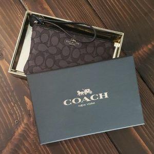 Coach Wristlet. Brand New.